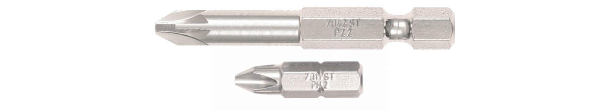 Stainless Steel Insert & Power Bits