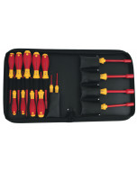 Insulated Slotted/Philips/Inch Nut Drivers 15 Piece Set