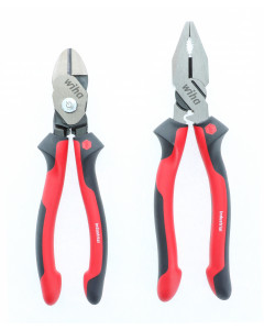 Industrial Soft Grip Pliers Lineman's and BiCut combo pack