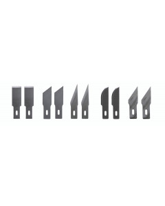 Blades for Wiha 43040 Universal Scraper Handle - Assorted 10 Pack
