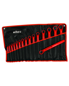 Insulated Deep Offset Wrench 16 Piece Metric Set