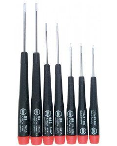 Precision Hex Metric Screwdrivers 7 Piece Set
