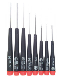 Precision Hex Inch Screwdrivers 8 Piece Set