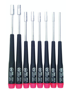 Precision Metric Nut Driver 8 Piece Set