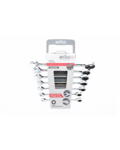 Combination Metric Ratchet Wrenches 7 Piece Set