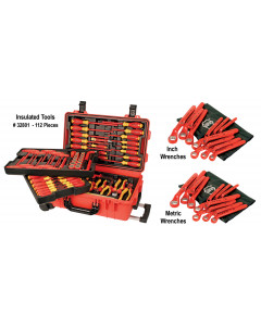 Insulated Master Tool Set -112 Pieces