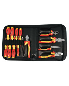 Insulated Pliers/Cutters/SlimLine Screwdrivers 14 Piece Set