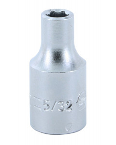 "1/4"" Drive Socket, 6 Point, 5/32"""