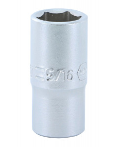 "1/4"" Drive Socket, 6 Point, 5/16"""