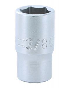 "1/4"" Drive Socket, 6 Point, 3/8"""