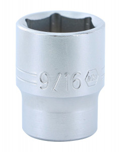 "1/4"" Drive Socket, 6 Point, 9/16"""