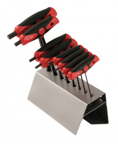 8 Piece Soft Grip Dual Drive Hex T-Handle Set - Metric
