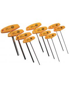 Hex T-Handle Inch 10 Piece Set