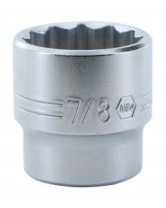"3/8"" Drive Socket, 12 Point, 7/8"""