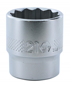 "3/8"" Drive Socket, 12 Point, 21.0mm"