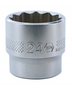 "3/8"" Drive Socket, 12 Point, 24.0mm"