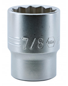 "1/2"" Drive Deep Socket, 12 Point, 7/8"""