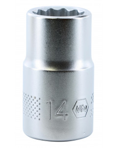 "1/2"" Drive Socket, 12 Point, 14.0mm"