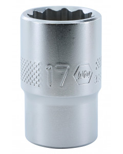 "1/2"" Drive Socket, 12 Point, 17.0mm"