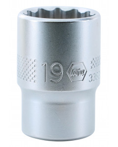 "1/2"" Drive Socket, 12 Point, 19.0mm"