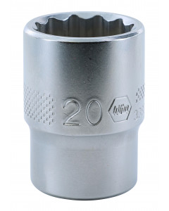 "1/2"" Drive Socket, 12 Point, 20.0mm"