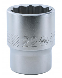 "1/2"" Drive Socket, 12 Point, 22.0mm"