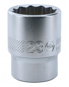 "1/2"" Drive Socket, 12 Point, 23.0mm"