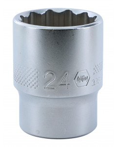 "1/2"" Drive Socket, 12 Point, 24.0mm"