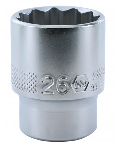 "1/2"" Drive Socket, 12 Point, 26.0mm"