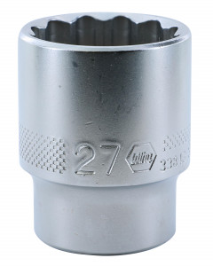 "1/2"" Drive Socket, 12 Point, 27.0mm"