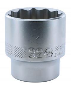 "1/2"" Drive Socket, 12 Point, 32.0mm"