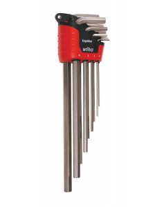 Hex Long Arm L-Key Nickel Metric 9 Piece Set