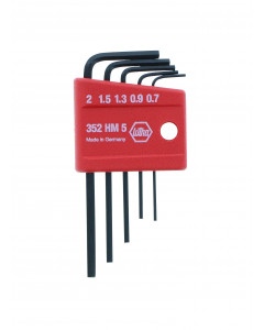 Mini Hex L-Key Metric 5 Piece Set