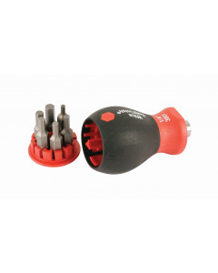 6-in-1 Stubby Bit Holder Hex Metric Set