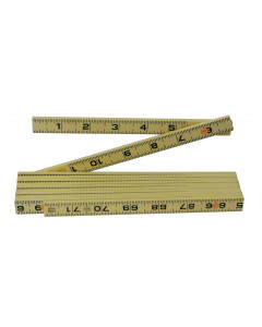 MaxiFlex Folding Ruler 6' Inside Reading