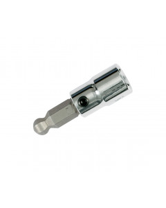 "Ball End Hex Inch Bit Socket 1/4"" Square Drive"