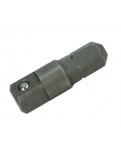 "1/4"" Hex to 1/4"" Square Socket Bit Adapter"