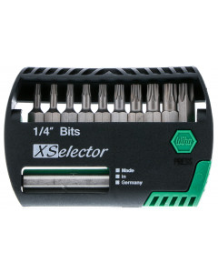 Security Torx® XSelector Bit Set with Quick Release Holder