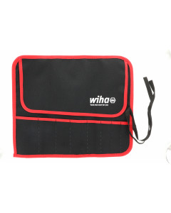 Pouch Large RD/BLK for 8 Piece