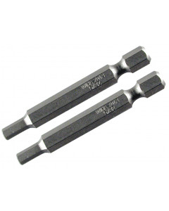 70mm Hex Metric Power Bits 2 Pack