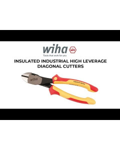 Insulated Industrial High Leverage Diagonal Cutters