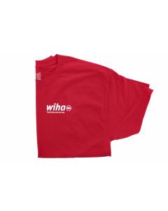 WIHA T-SHIRT OXFORD RED MED.