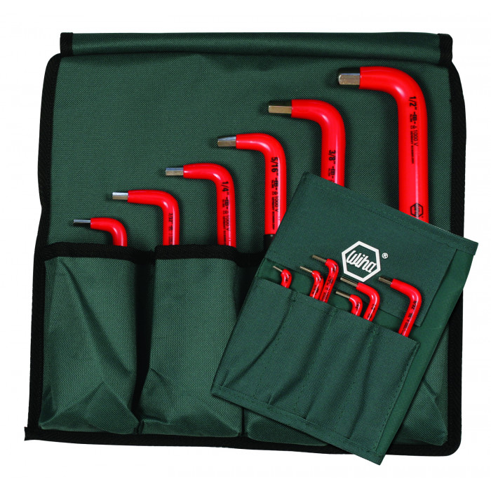 Insulated Inch Hex L-Key 12 Piece Set