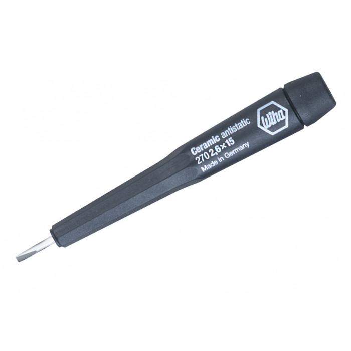 Precision Ceramic Slotted Screwdrivers