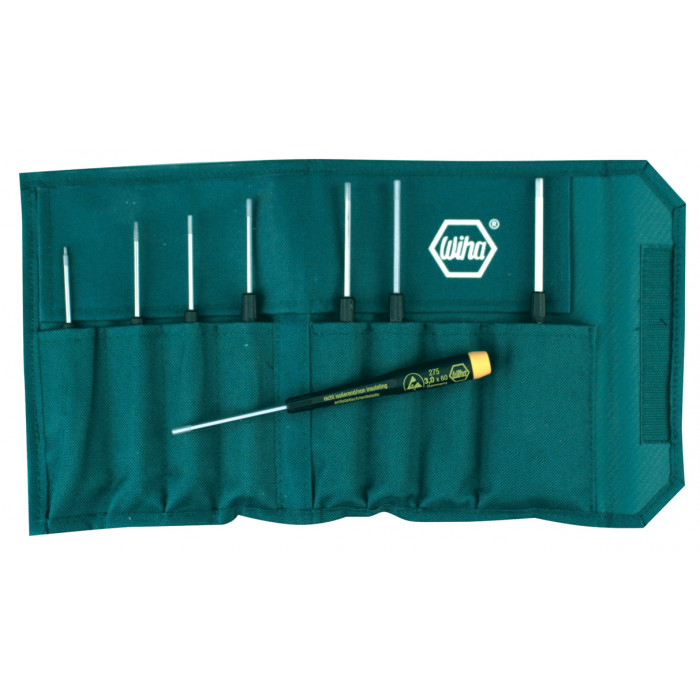 8 Piece ESD Safe Precision Hex Screwdriver Set - Metric