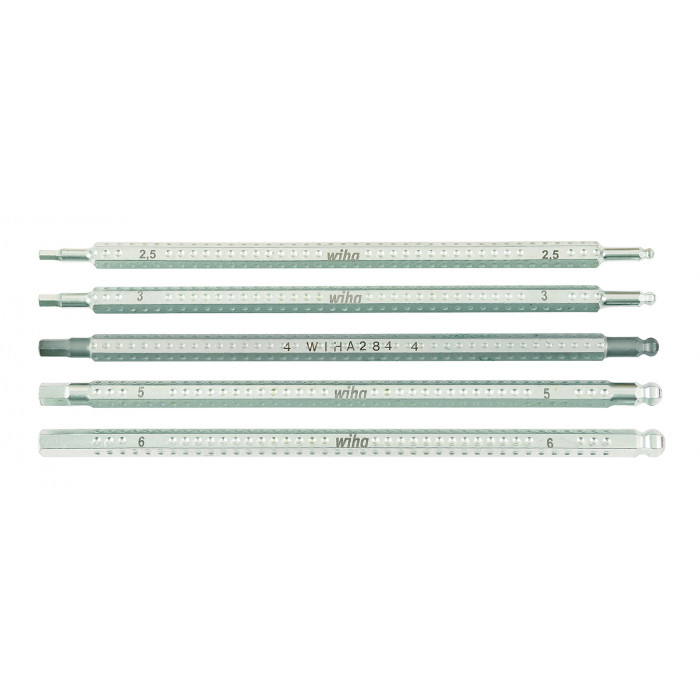 Drive-Loc VI Hex Metric and Ball End 5 Blade Set