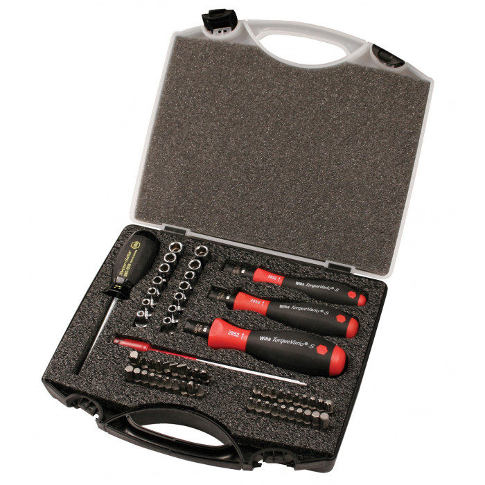 Torque Control 59 Pc. Set - 1 to 50 In/lbs.
