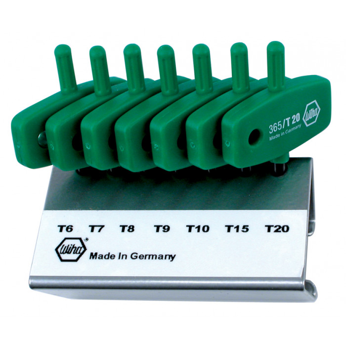 MagicSpring Screw Holding Torx® 7 Pc. Set in Metal Stand