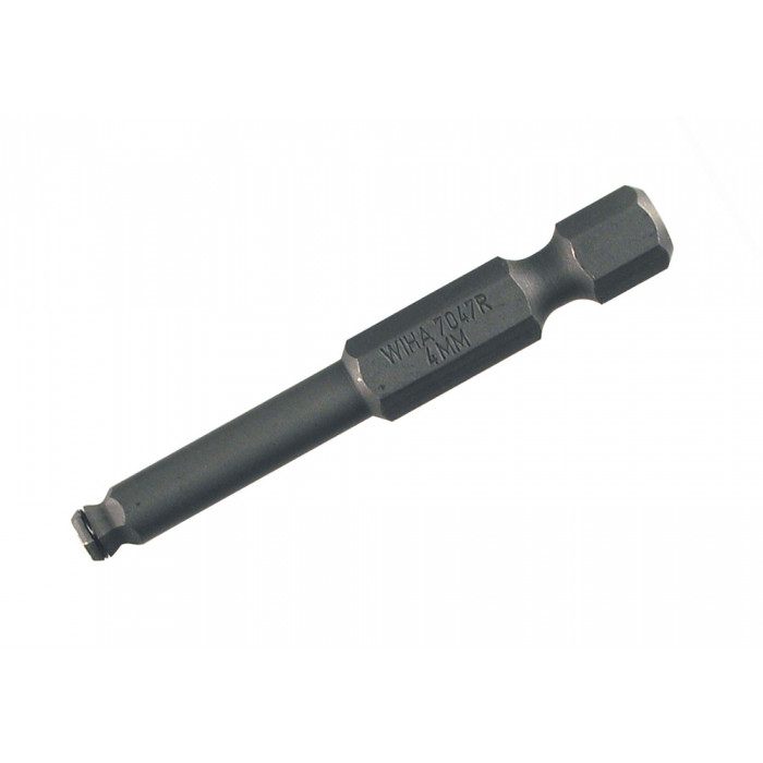 M/Ring Ball End Power Bit 3/16 x 50mm