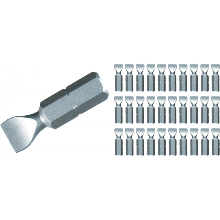 Slotted Contractor Insert Bits Bulk Pack of 30 Bits